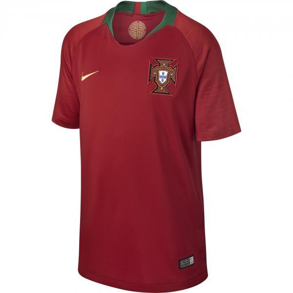 Nike Maglia Gara Home Portogallo Junior  18/20 Rosso
