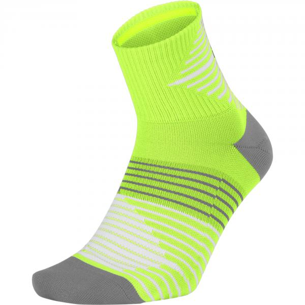 Nike Calze Dri-fit Lightweight Quarter  Unisex Giallo