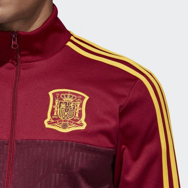 Adidas Felpa  Spagna BORDEAUX Tifoshop
