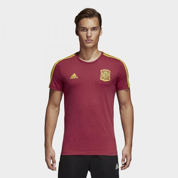 Adidas T-shirt  Spagna BORDEAUX