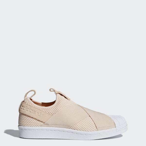 Adidas Originals Chaussures Superstar Slipon  Femmes LINEN