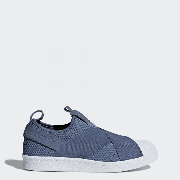 Adidas Originals Chaussures Superstar Slipon  Femmes RAW STEEL