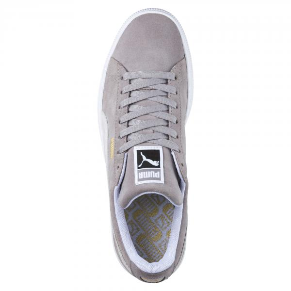 Puma Shoes Suede Classic Ash-Puma White Tifoshop