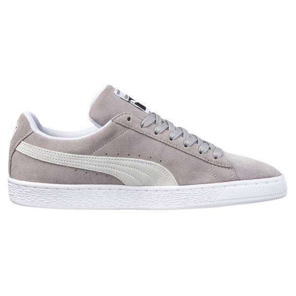 Puma Chaussures Suede Classic Ash-Puma White