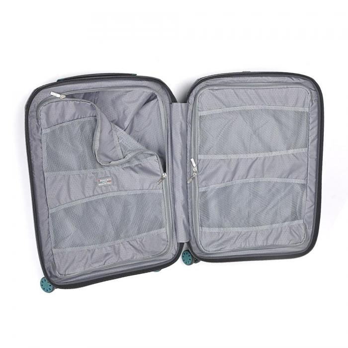 Cabin Luggage  WHITE/EMERALD Roncato