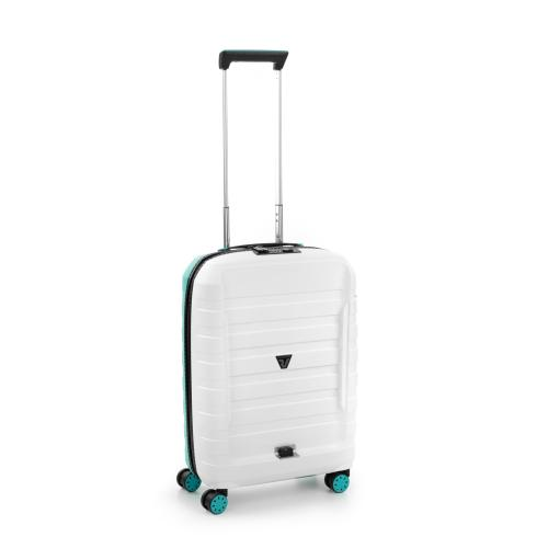 CABIN LUGGAGE  WHITE/EMERALD