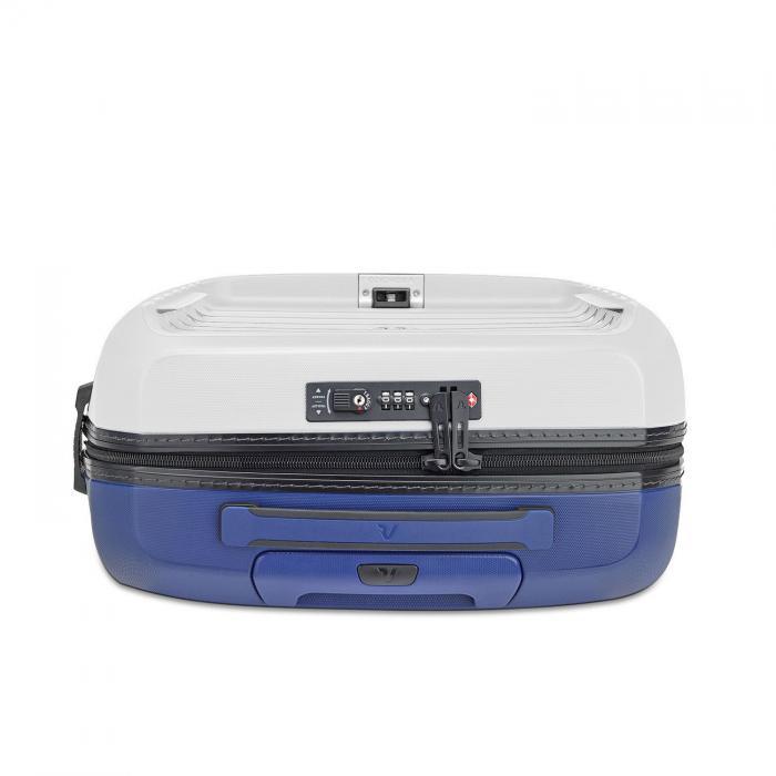 Cabin Luggage  WHITE/NAVY  Roncato