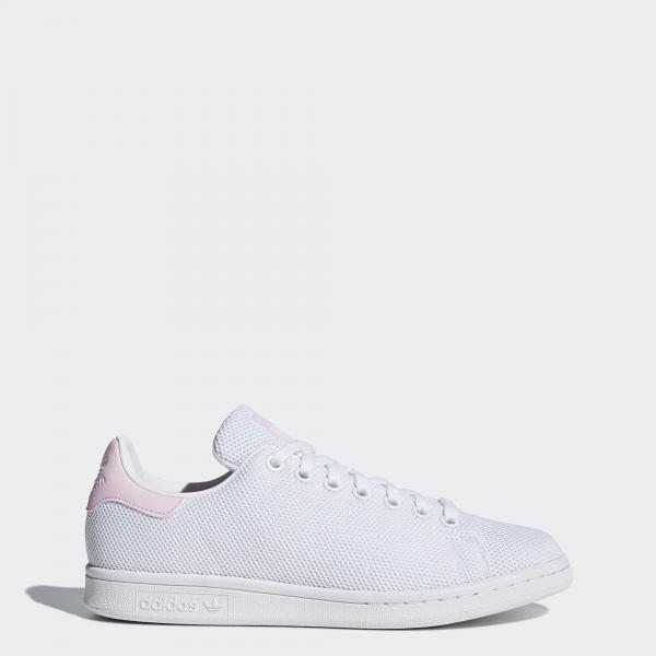 Adidas Originals Scarpe Stan Smith W  Donna Bianco