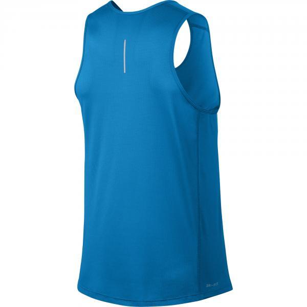 Nike Canotta Miler BLU Tifoshop