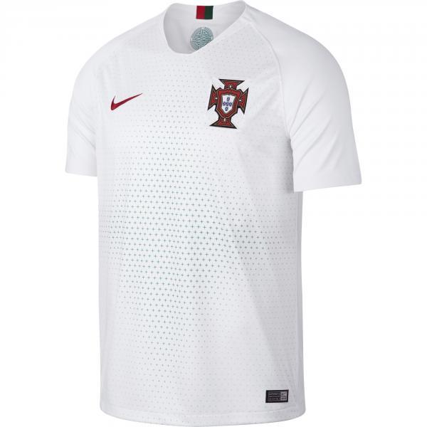 Nike Maglia Gara Away Portogallo   18/20 Bianco