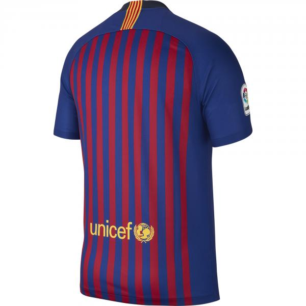 Nike Maglia Gara Home Barcellona   18/19 Blu Tifoshop