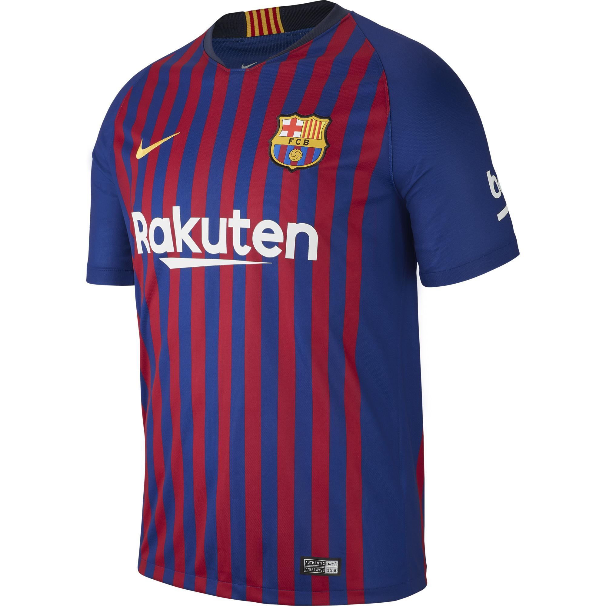 Nike Maglia Gara Home Barcellona   18/19