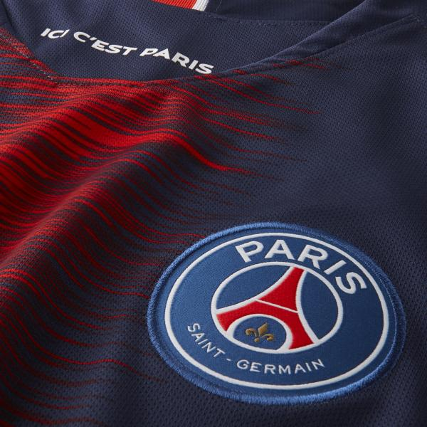 Nike Maglia Gara Home Paris Saint Germain   18/19 Blu Tifoshop