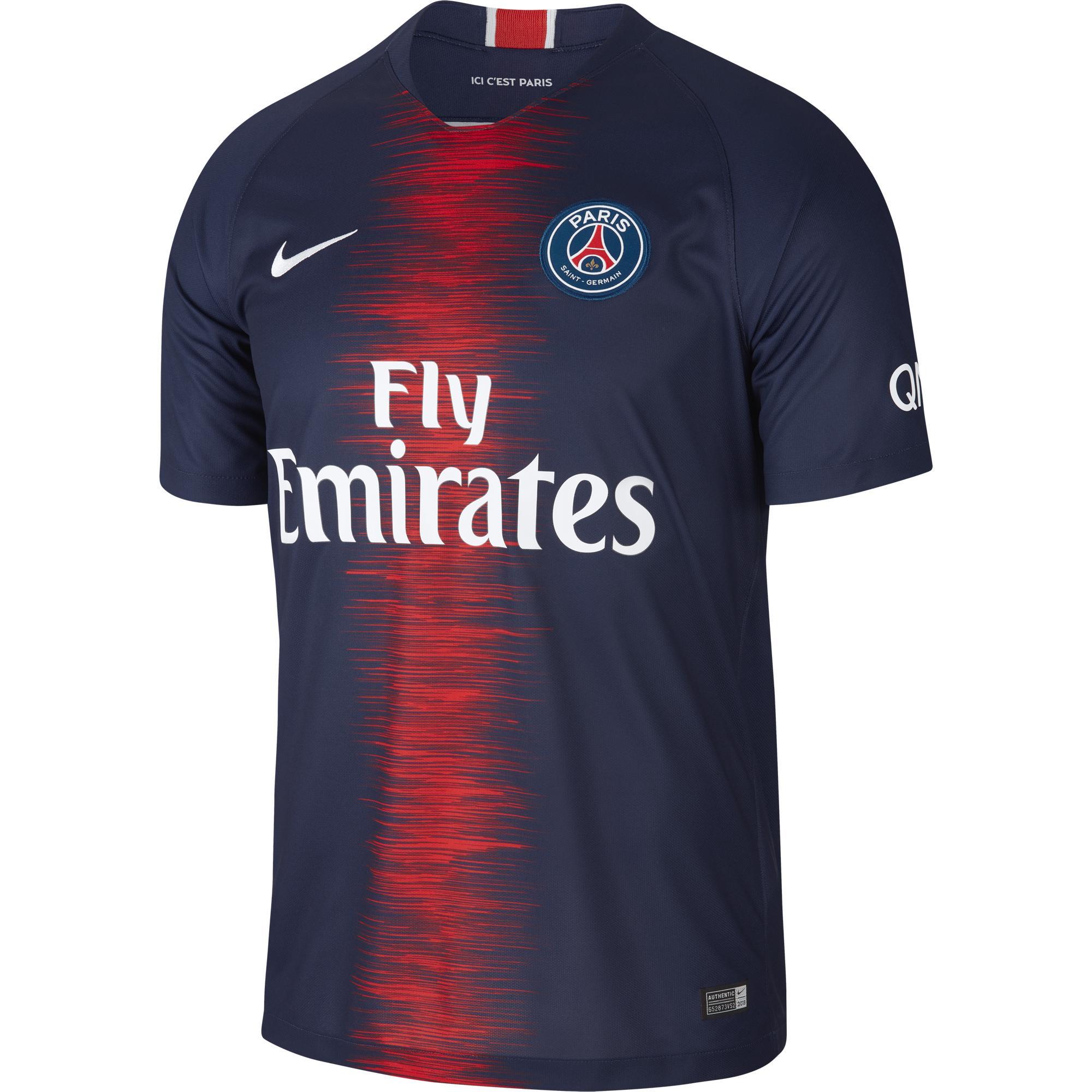 Nike Maglia Gara Home Paris Saint Germain   18/19