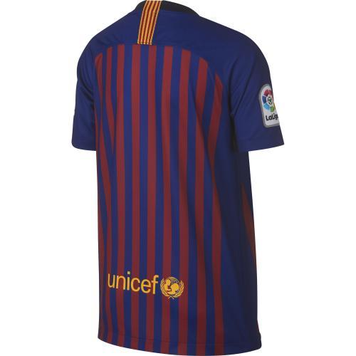Nike Maglia Gara Home Barcellona Junior  18/19