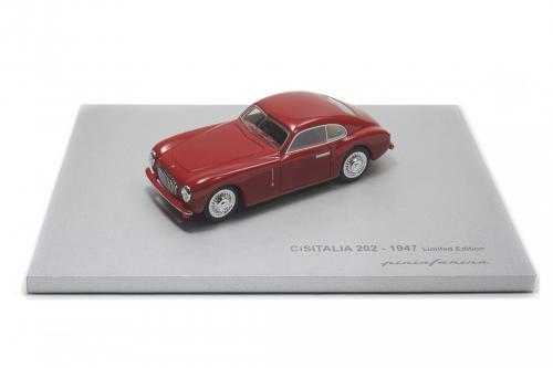 Cisitalia 202 Berlinetta - 1947 - 1:43 Model Rosso