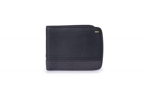 Wallet 6 cards Folio by Pininfarina Black