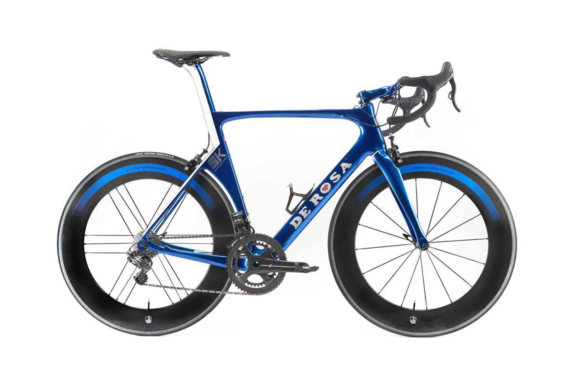 Bicicletta Blu Pininfarina