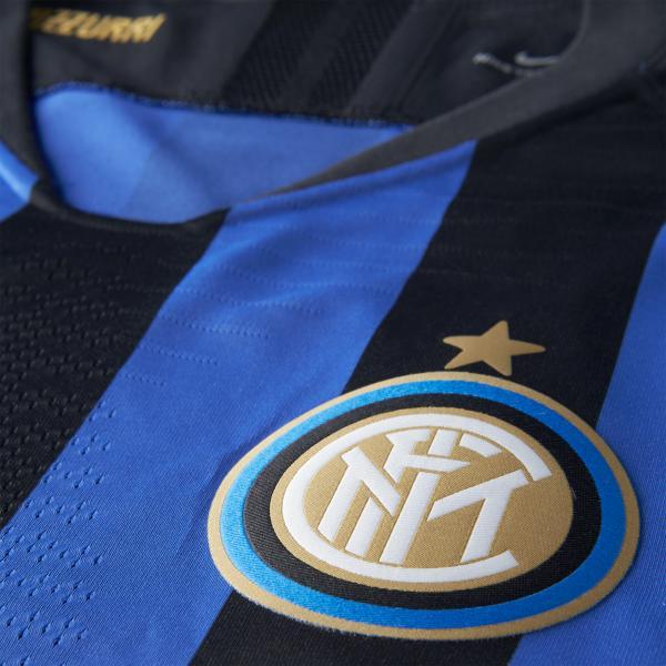 Nike Maglia Gara Authentic Home Inter   18/19 Nero Blu Tifoshop