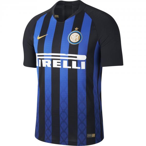 Nike Maglia Gara Authentic Home Inter   18/19 Nero Blu