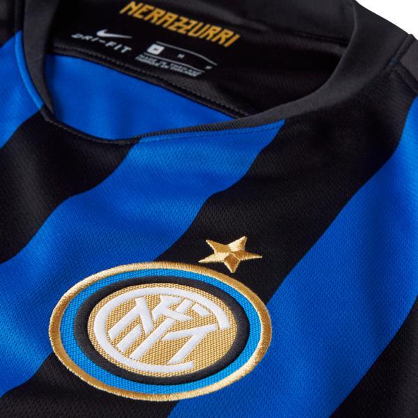Nike Maglia Gara Home Inter   18/19 Nero Blu Tifoshop