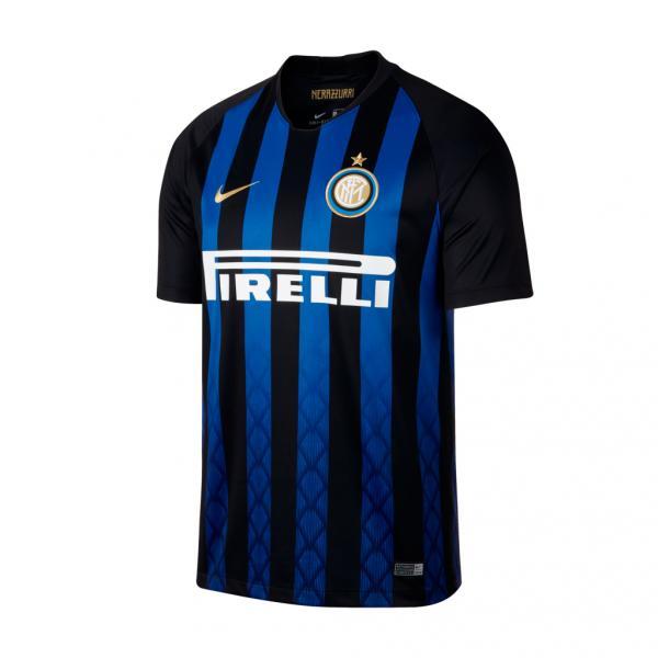 Nike Maglia Gara Home Inter   18/19 Nero Blu