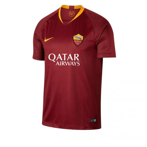 Nike Jersey Home Roma   18/19 TEAM RED/UNIVERSITY GOLD
