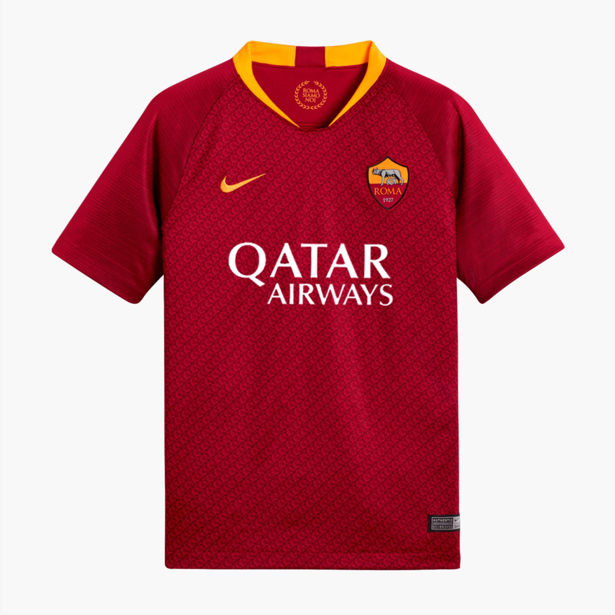 8db850d14c99b3 Nike Jersey Home Roma Junior 18/19 Team Red/university Gold - Tifoshop.com