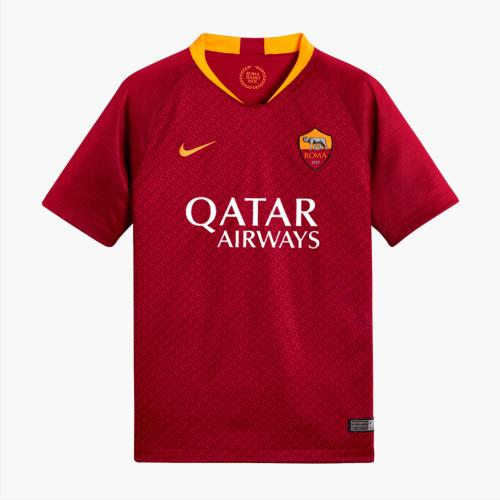 Nike Jersey Home Roma Junior  18/19