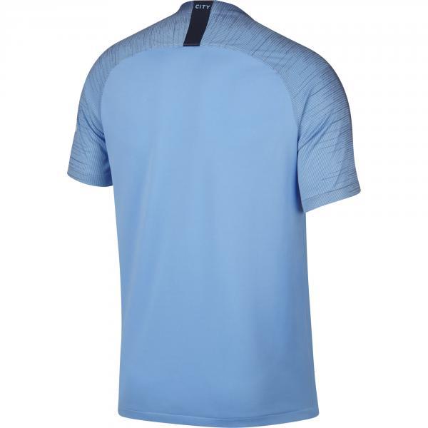 Nike Maglia Gara Home Manchester City   18/19 AZZURRO Tifoshop