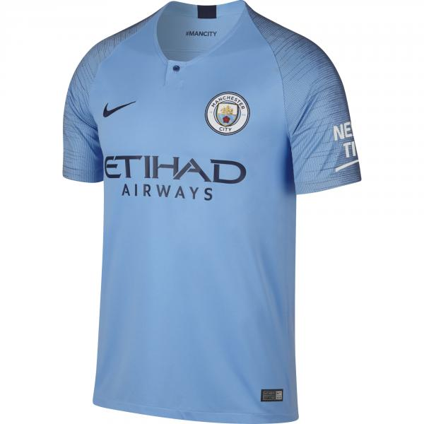 Nike Maglia Gara Home Manchester City   18/19 AZZURRO