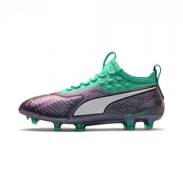Puma Scarpe Calcio One 1 Illuminate Fg/ag Verde