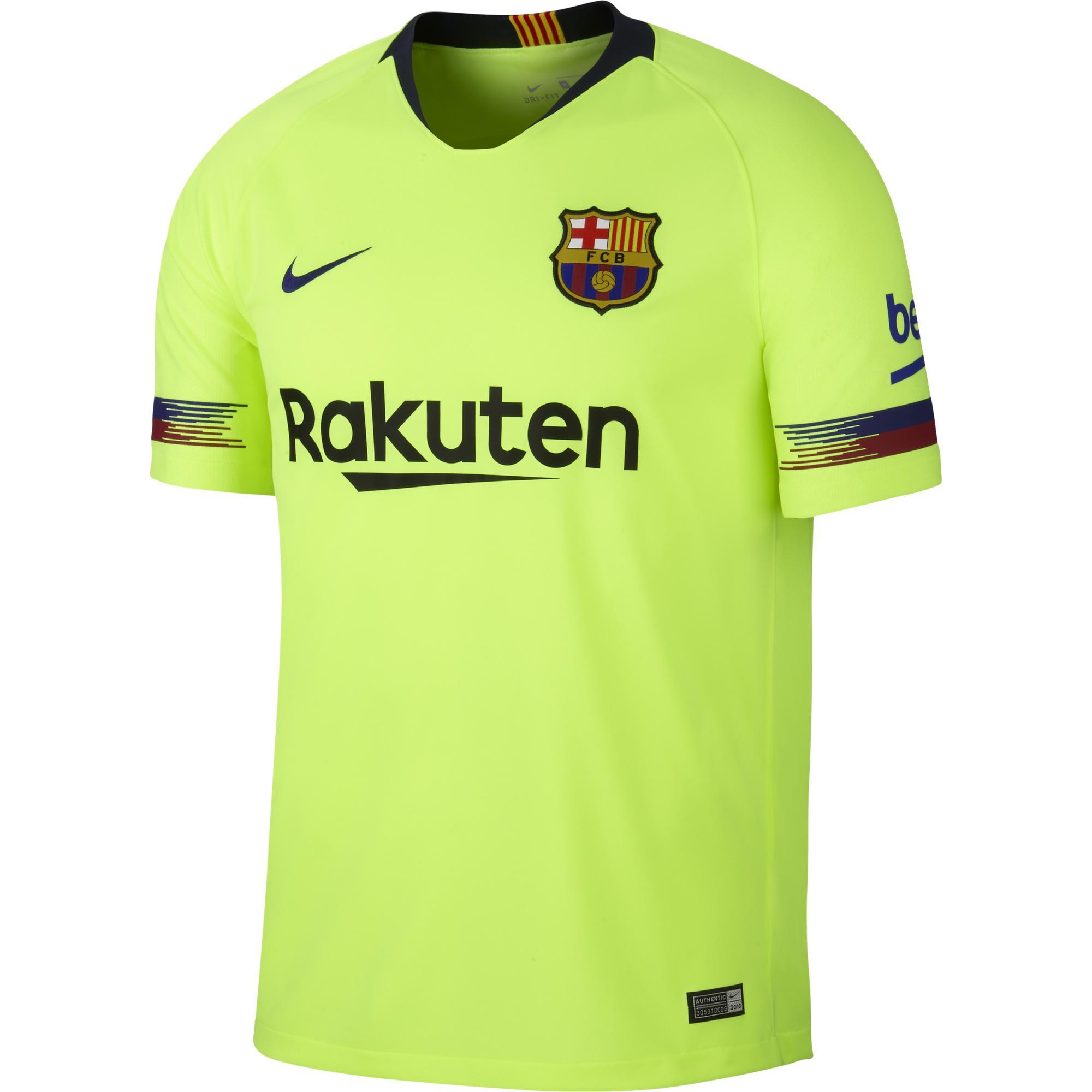 Nike Maglia Gara Away Barcellona   18/19