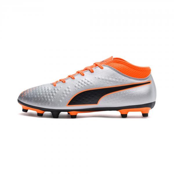 Puma Scarpe Calcio One 4 Syn Fg Argento
