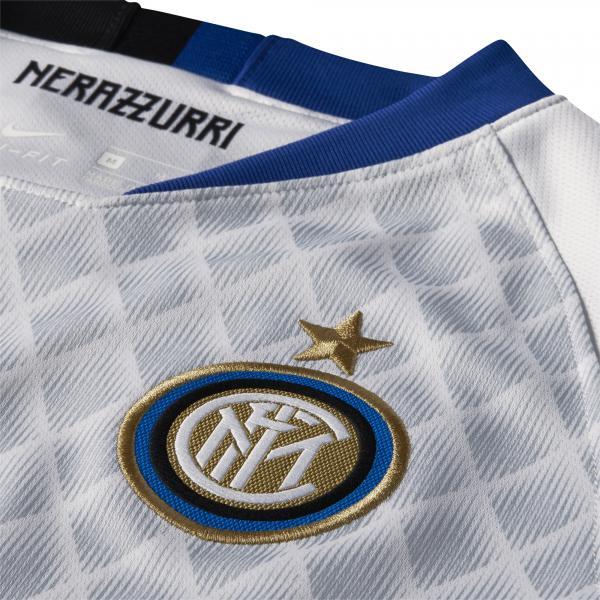 Nike Maglia Gara Away Inter Junior  18/19 Bianco Tifoshop