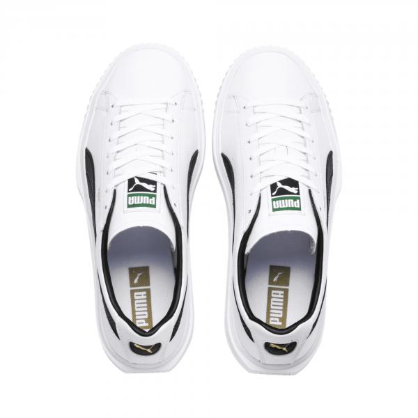 Puma Scarpe Breaker Leather Bianco Tifoshop