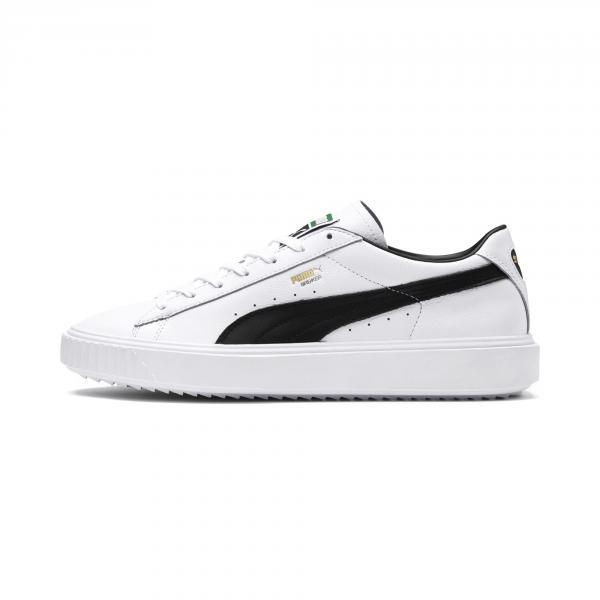 Puma Scarpe Breaker Leather Bianco