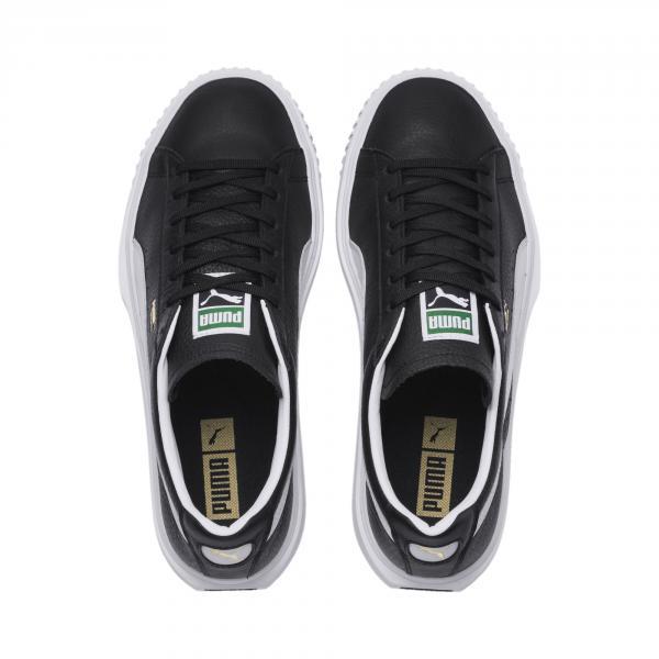 Puma Scarpe Breaker Leather Nero Tifoshop