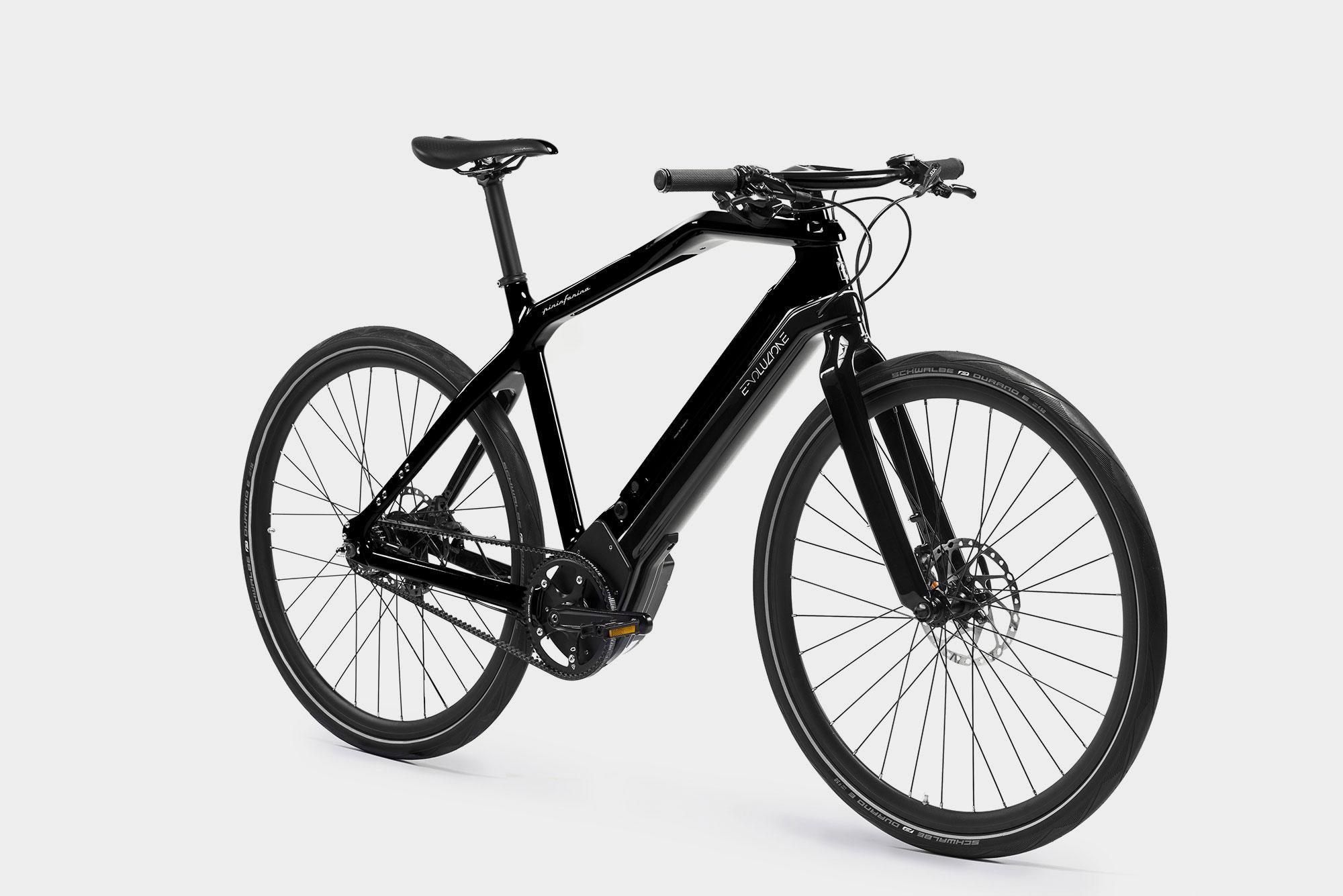 Bicicletta Elettrica Nero Pininfarina Store