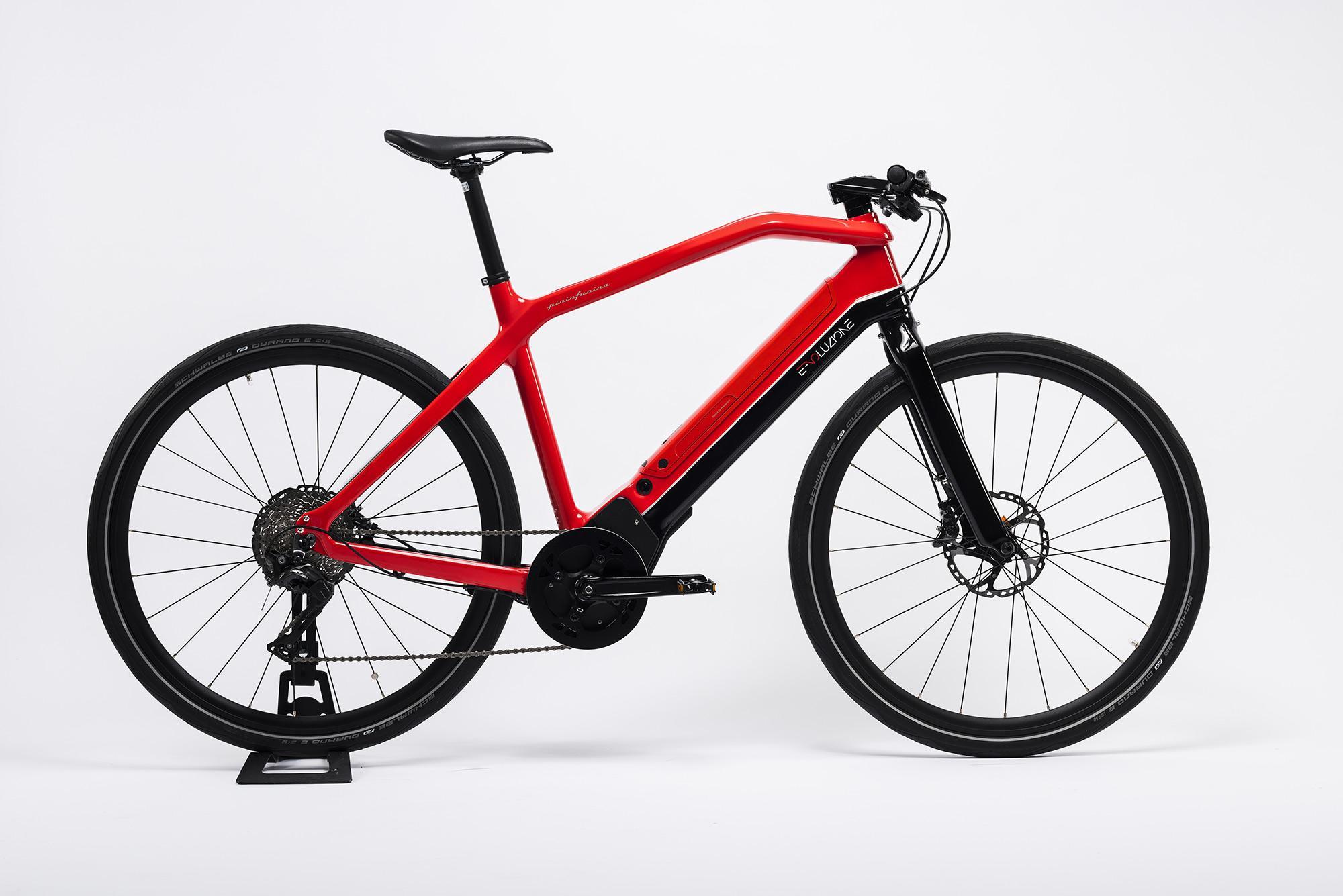 Bicicletta Elettrica Rosso