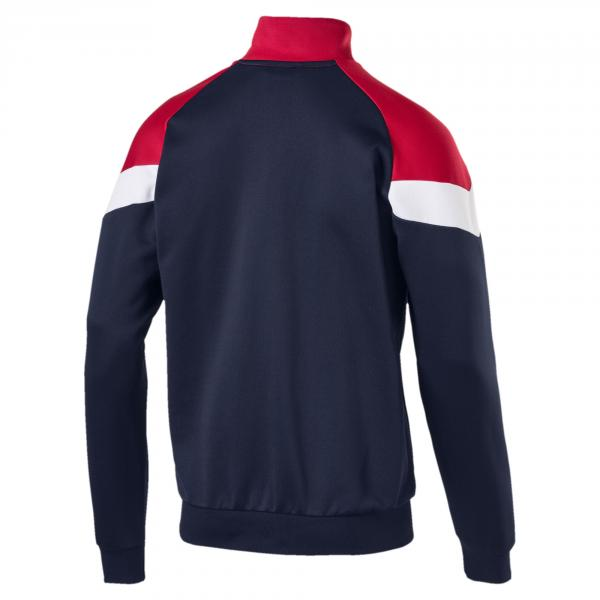 Puma Sweatshirt Mcs Track PEACOAT Tifoshop