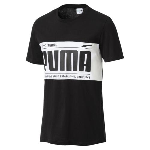Puma T-shirt Graphic Logo Block