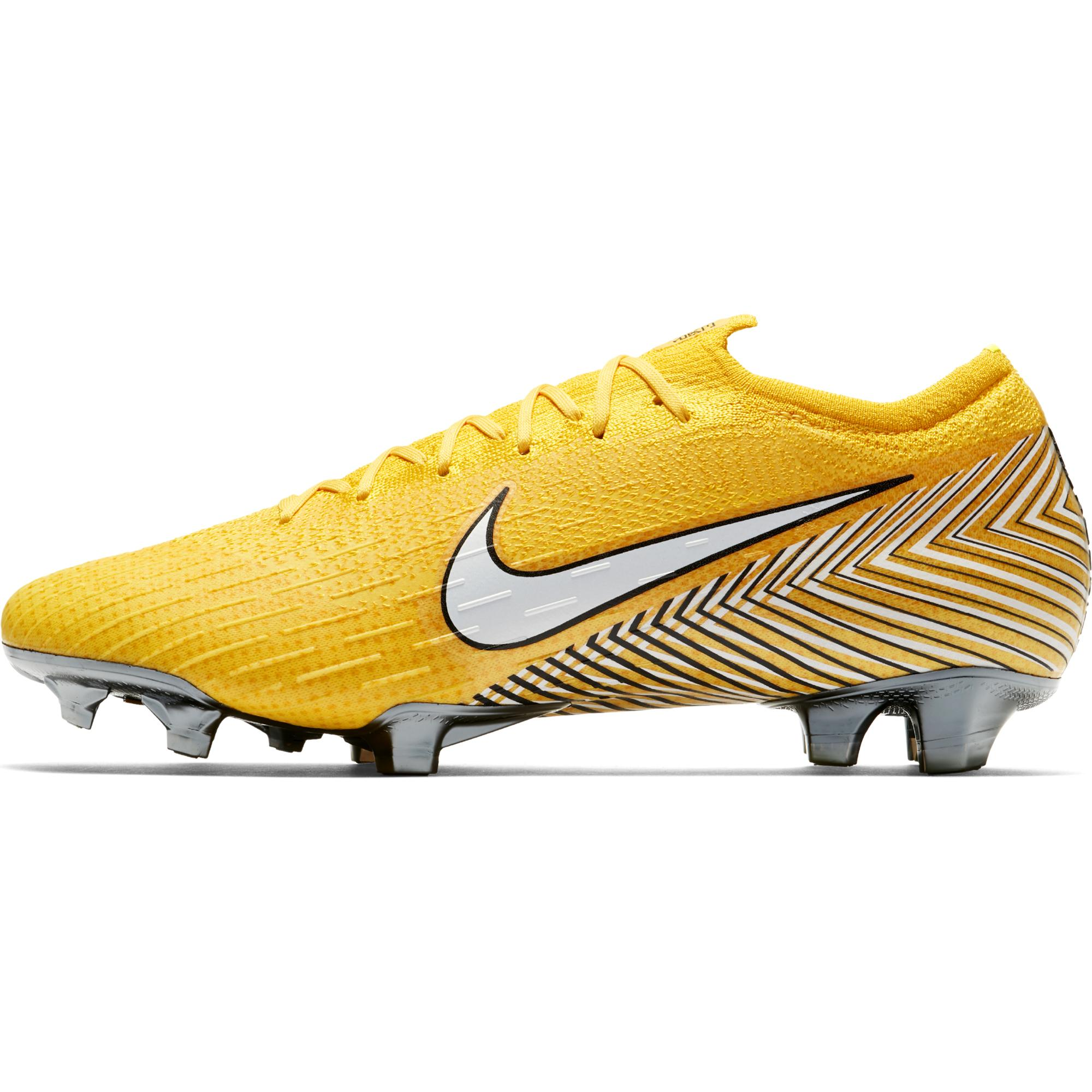8c751d114 Nike Football Shoes Vapor 12 Elite Fg Neymar Jr Amarillo white ...