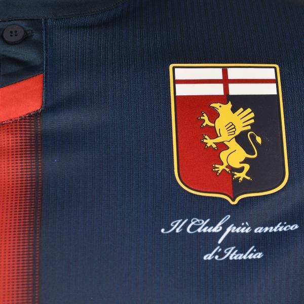 Lotto Maglia Gara Home Genoa   18/19 Rosso/Blu Tifoshop