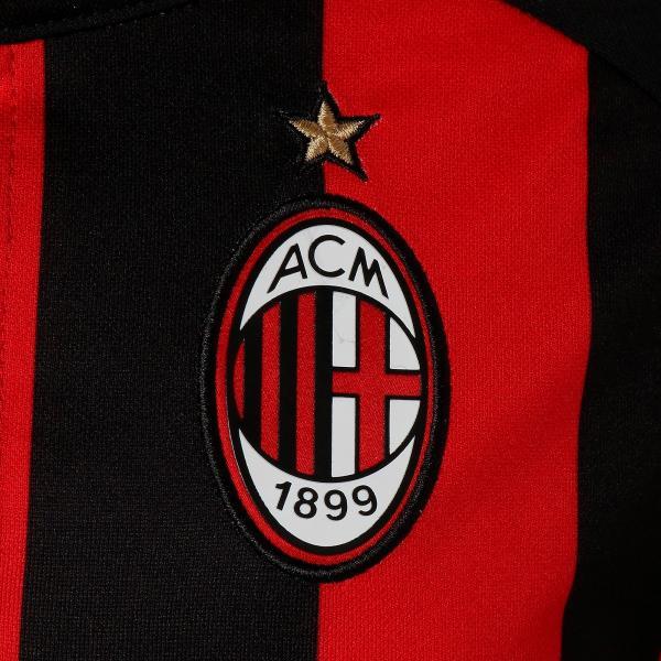 Puma Maglia Gara Home Milan Junior  18/19 Rosso Nero Tifoshop