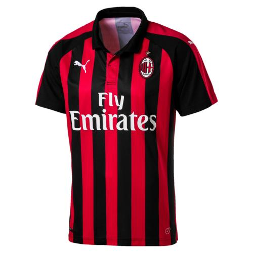 AC Milan HOME Shirt Replica SS with Sponsor Logo