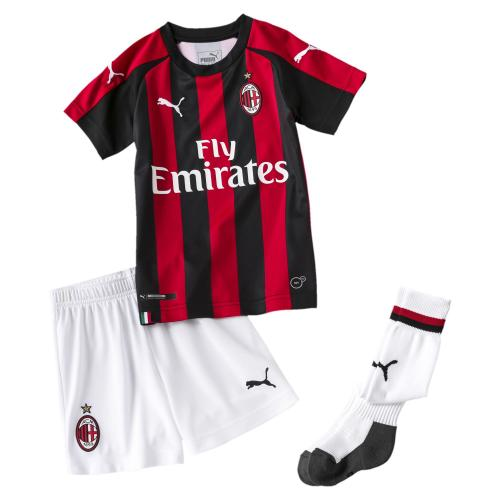 Puma Kit Football Home Milan Bèbè  18/19