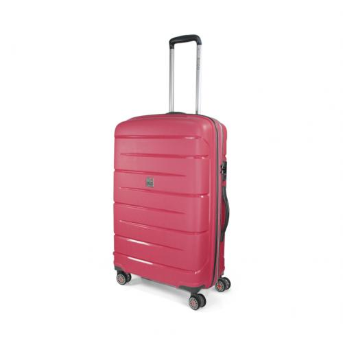 MEDIUM LUGGAGE  CHERRY