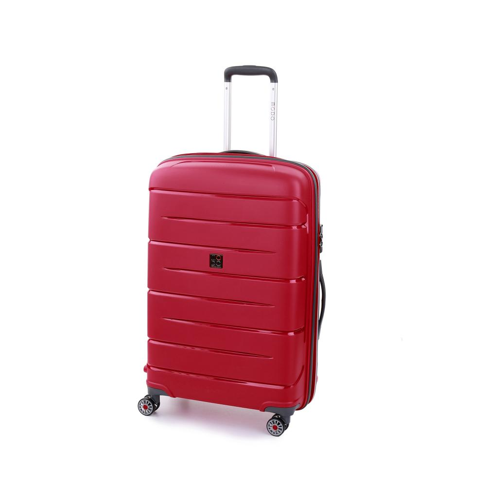 Trolley Moyenne Taille  ROUGE