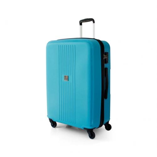 LARGE LUGGAGE  ACQUA BLUE